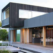 residential architecture award winning New Zealand architect precast concrete timber Kuratau Lake Taupo crafted detailed elegant handsome builder Tim Nees NZIA country vacation