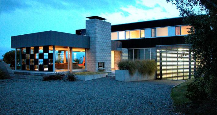 Superb ... Residential Architecture Award Winning New Zealand Architect Precast  Concrete Timber Kuratau Lake Taupo Crafted Detailed Elegant ...