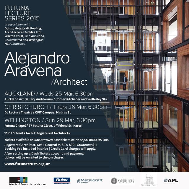 Aravena Alejandro Architect Lecture