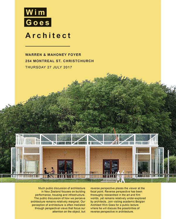 Wim Goes Architect